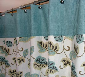 Shower Curtains At Bed Bath And Beyond shower curtains grommets - decor kitchens and interiors
